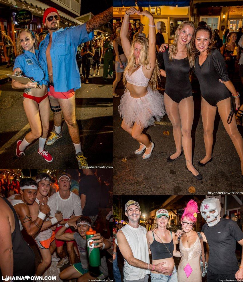 2015 Lahaina Halloween Photos Front Street Maui Hawaii
