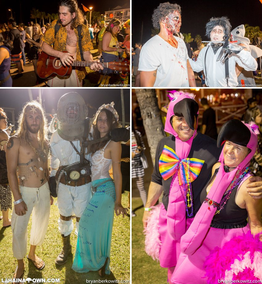 Lahaina Halloween party