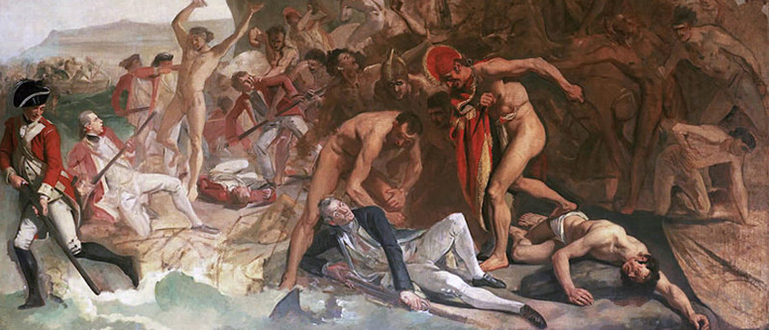 Captain James Cook Killed in Hawaii